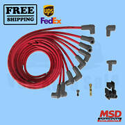 Spark Plug Wire Set Msd Fits Rover 3500 1980