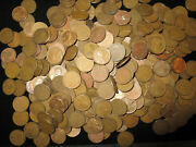 Wheat Penny Lot 1000 Coins Mix Dates And Mint Marks All Coins Pre 1958