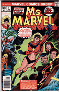 Ms. Marvel 1st Series 1977. Complete Set 1 Is Cbcs 5.0 Signed Gerry Conway