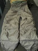 Us Navy Buaer Winter Flying Suit Trousers 30 Short