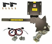 1961-1966 Ford Truck Front Door Power Window Kit With Nu-crank Switches