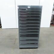 13 Drawer Industrial Parts Tool Storage Shop Cabinet 28-1/4x28x59