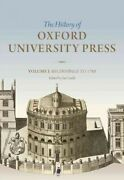 History Of Oxford University Press Beginnings To 1780, Hardcover By Gadd, I...