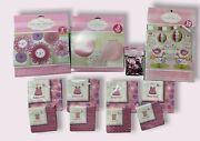 It's A Girl Baby Shower Decorations, Pink, Napkins, Paper Lanterns , 100 Value