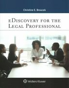 Ediscovery For The Legal Professional Paperback By Broucek Christine E. Br...