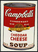 Framed 10 Off Sunday B Morning Campbell39s Can Ii Cheddar Cheese Limited Cer