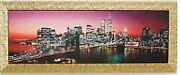 Imported From Italy Made In Italy Night View Picture Night View Picture Gold F