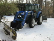 Meyers 10and039 Snow Plow Tractor Skid Steer Quick Attach Newer Hydraulic Cylinders
