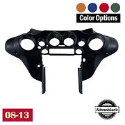 Color-matched Inner Batwing Fairing For Harley Touring Street Glide Flhx 08-13