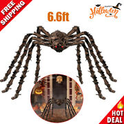 79 Halloween Decorations Realistic Large Hairy Spider Scary Furry Decor Props