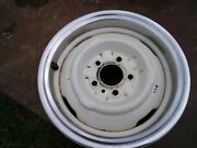 Original 1950and039s-60and039s Dodge Plymouth Steel Wheel 15x4 1/2 Mopar 61639e 3-57