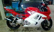 Red Injection Fairing With Tank Cover Fit Honda Cbr600f3 1995-1996 47 A6