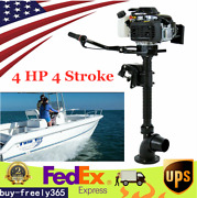 4hp 4stroke Outboard Motor Inflatable Fishing Boat Engine Cdi System 4 Jet Pump