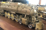 Overland Models And039hoand039 Brass Locomotive 4-8-4 S3 Milwaukee Road Dong Jin