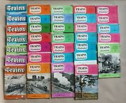 33x Trains Illustrated Magazines Locomotive Railway Carriage Review 1957-1961