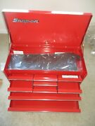 New Vintage Snap On Tools Kra-58g Kra58g 9 Drawer Top Toolbox Chest 1986