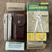 Vintage Leatherman Original Wave. Leather Sheath. Mint Condition. Made In Usa