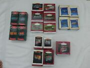 Hallmark Lionel Trains And Keepsake Series Ornaments Lot Of 19 New In Box