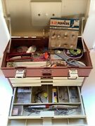 Plano 4 Drawer Tackle Box 757 Full- Lures Spinners Tackle Tools+ More Full