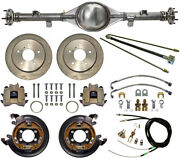 Currie 55-72 F-100 Rear End And Disc Brakeslinesparking Brake Cablesaxlesetc