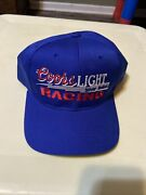 Coors Light The Silver Bullet Vintage Snapback Trucker Style Hat Blue