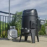 Tru-infrared Smoker Roaster Grill Portable Outdoor Bbq Cooker Barbecue Big Easy
