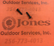 2 Homelite Part 94065 Chainsaw Screw -for 180, 192, 200, Little Red, Super 2