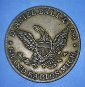 Daniel Ball And Co. - Grand Rapids, Mich - Domestic And Foreign Exchange - 73285300