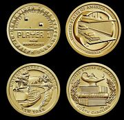 2021 Receive All 4 American Innovation Brilliant Uncirculated Us Dollar Coins