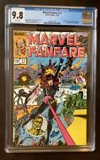 Marvel Fanfare 11 Cgc 9.8 White Pages 11/1983 1st Appearance Iron Maiden