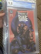 Batman Vengeance Of Bane 1 1993 Cgc 9.8 🔥 1st Appearance 🔥 White Pages 🔑
