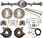 Currie 55-72 F-100 Rear End And Drilled Disc Brakeslinespb Cableaxlesetc
