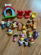 Little People Fisher Price Lot Of 19 Student Mixed Figures Disney Princess