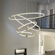 Acrylic Pendant Light Chandelier Living Room Hanging Lamp Led Ceiling Fixtures