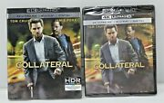 Collateral - Tom Cruise And Jamie Foxx 4k + Blu-ray - New