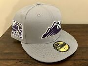 New Era Colorado Rockies Coors Light Beer 5950 Fitted - 7 1/2 Not Hat Club