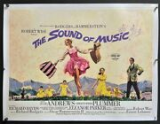 The Sound Of Music Original British Quad Movie Poster 1965 Hollywood Posters