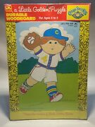 Vintage Cabbage Patch Golden Hard Puzzle Let's Play Ball-new In Plastic
