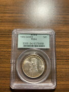 1925-p Vancouver Silver Half Dollar Commemorative Pcgs Ms 64 Old Green Holder