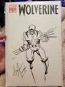 Wolverine Sketch By Herb Trimpe Open To Offers