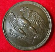 Civil War Dug Union Maker Marked Eagle Breastplate---boyd And Sons--perfect