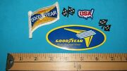 Goodyear Good-year Aircraft Airplane Tire Sticker Decal Wings Patch Racing