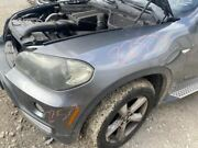 2007-2010 Bmw X5 Left Front Driver Fender Gray W/o Headlamp Washers    651896