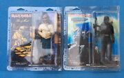 Neca Iron Maiden Action Figure Lot 2 Piece Of Mind And 2 Minutes To Midnight Mip