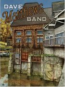 Dave Matthews Band Poster - Cuyahoga Falls Oh 9/29/21 Blossom In Hand