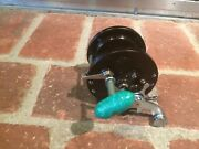 Penn 85 Green Marbleized Handle Conventional Reel In Good Condition – Used