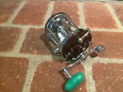 Penn Squidder 140 Conventional Reel In Good Condition – Green Handle Knob – Used