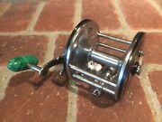 Penn Longbeach 67 Conventional Reel Green Handle In Good Condition – Used