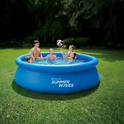 Inflatable Swimming Pool Summer Waves 10 By 30 Hours Of Fun In The Sun 10 X 30