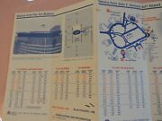 1977 New York Airways Nyc Helicopter Foldout Schedule Brochure Aviation